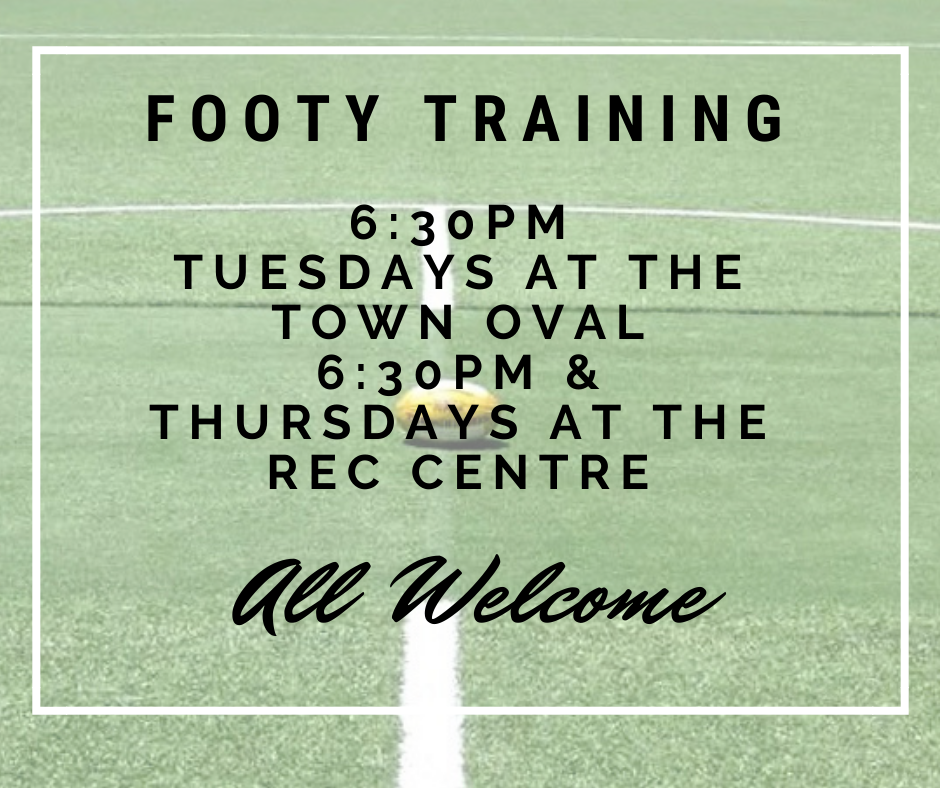 Footy Training