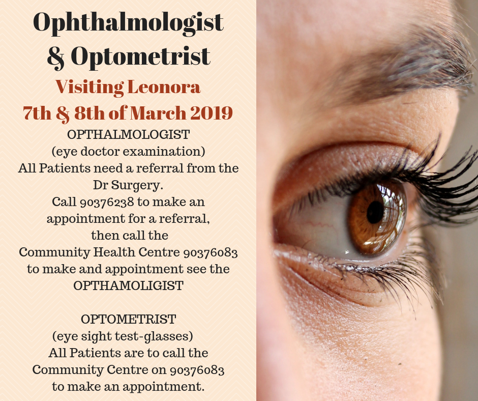 Ophthalmologist and Optometrist