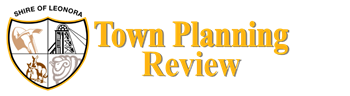 Shire of Leonora Town Planning Review - Stage 3