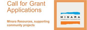Minara Grant Applications Open
