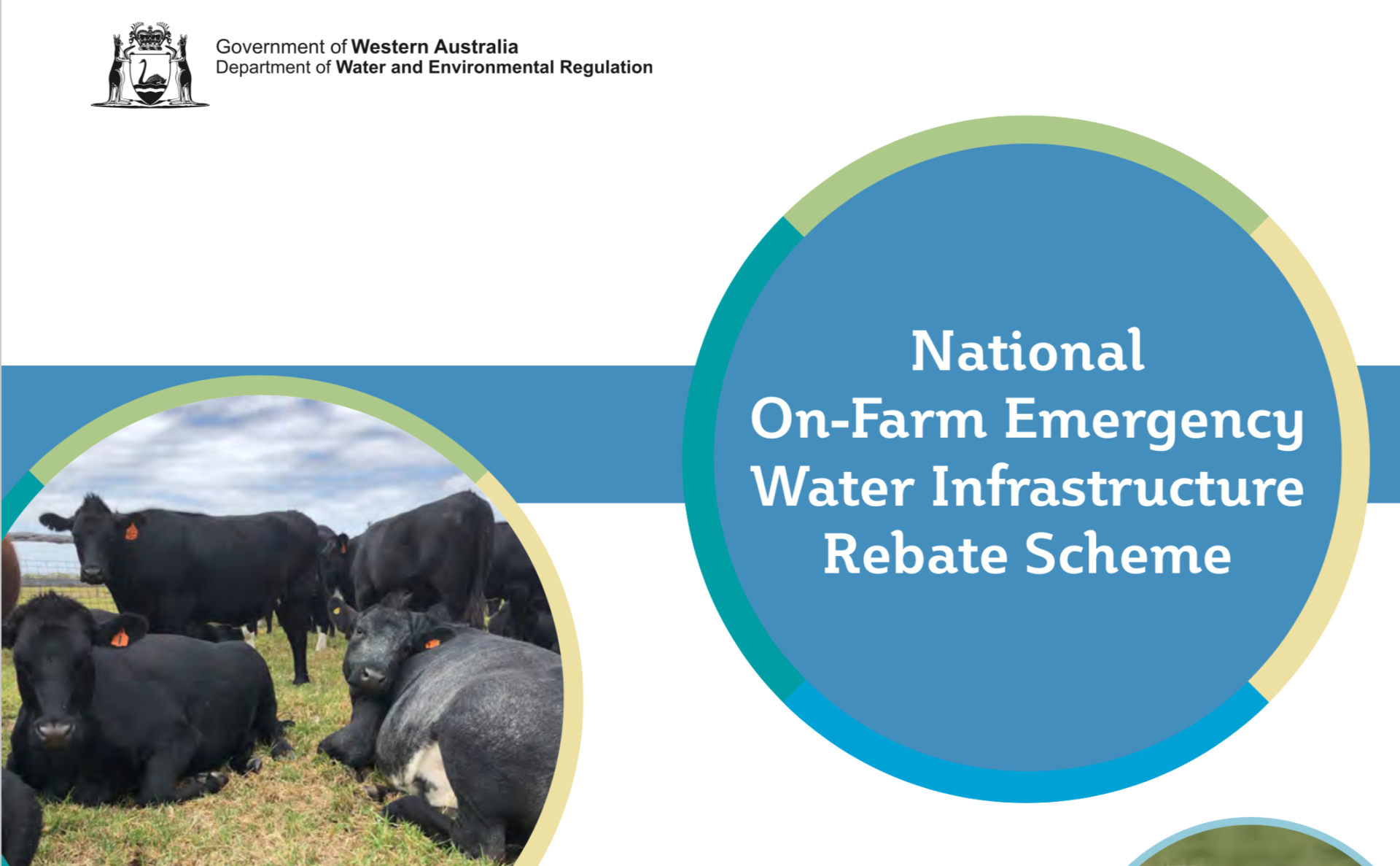 National On-Farm Emergency Water Infrastructure Rebate Scheme
